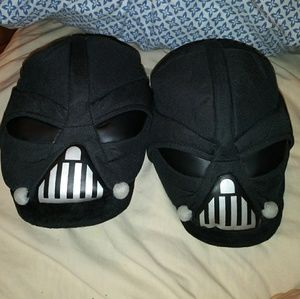 Darth Vader Plush Slippers